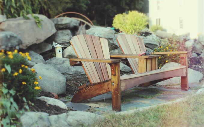 Willow Spring Vineyards Adirondack Chairs