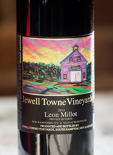leon-millot-private-reserve-wine-label-by-jewell-towne-vineyeards