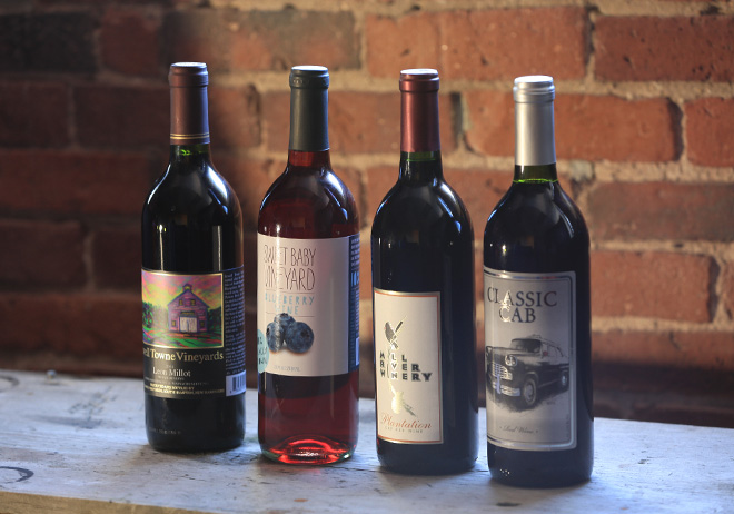 Local Wine Labels