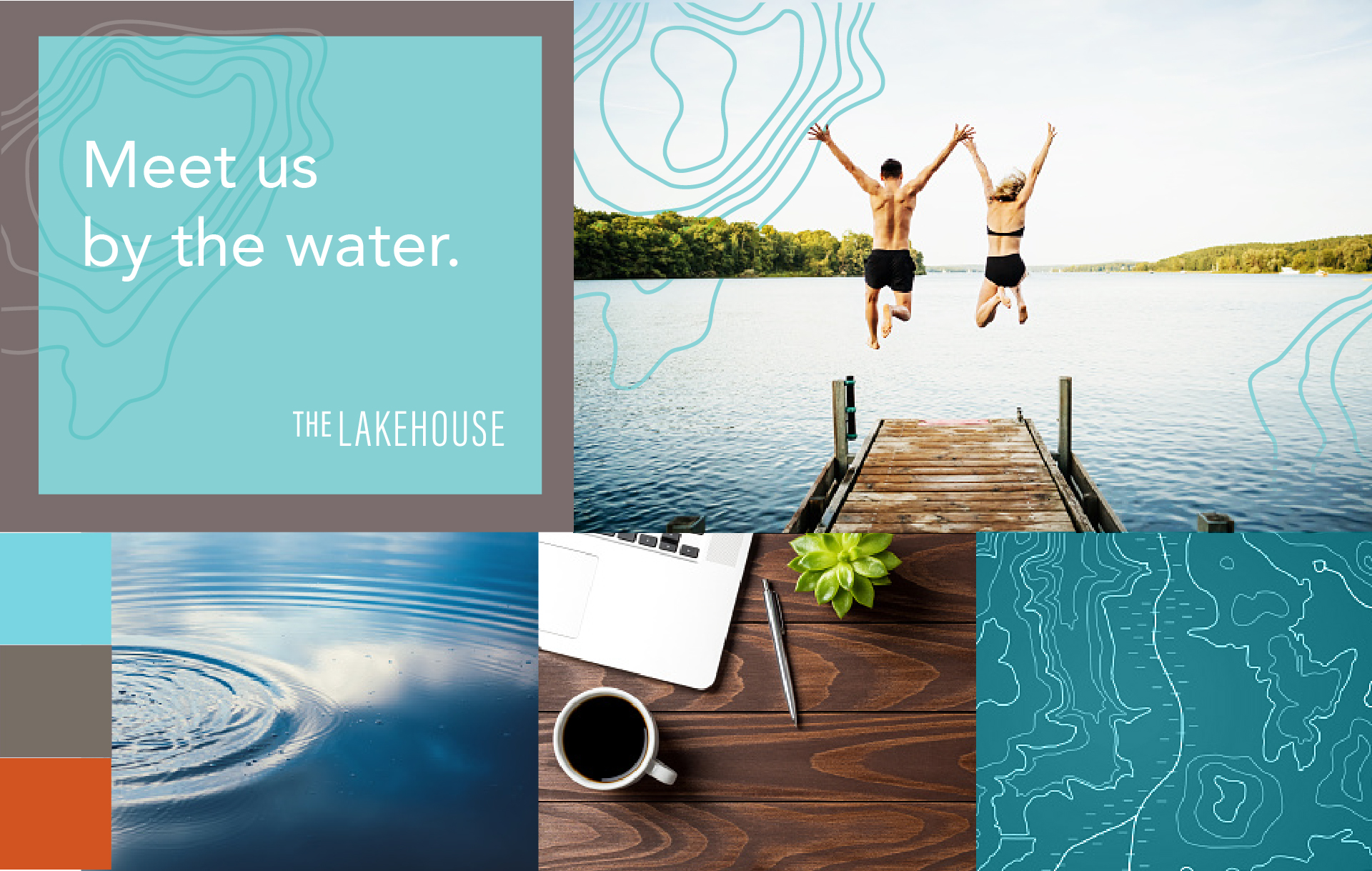 community rebranding imagery for the lakehouse