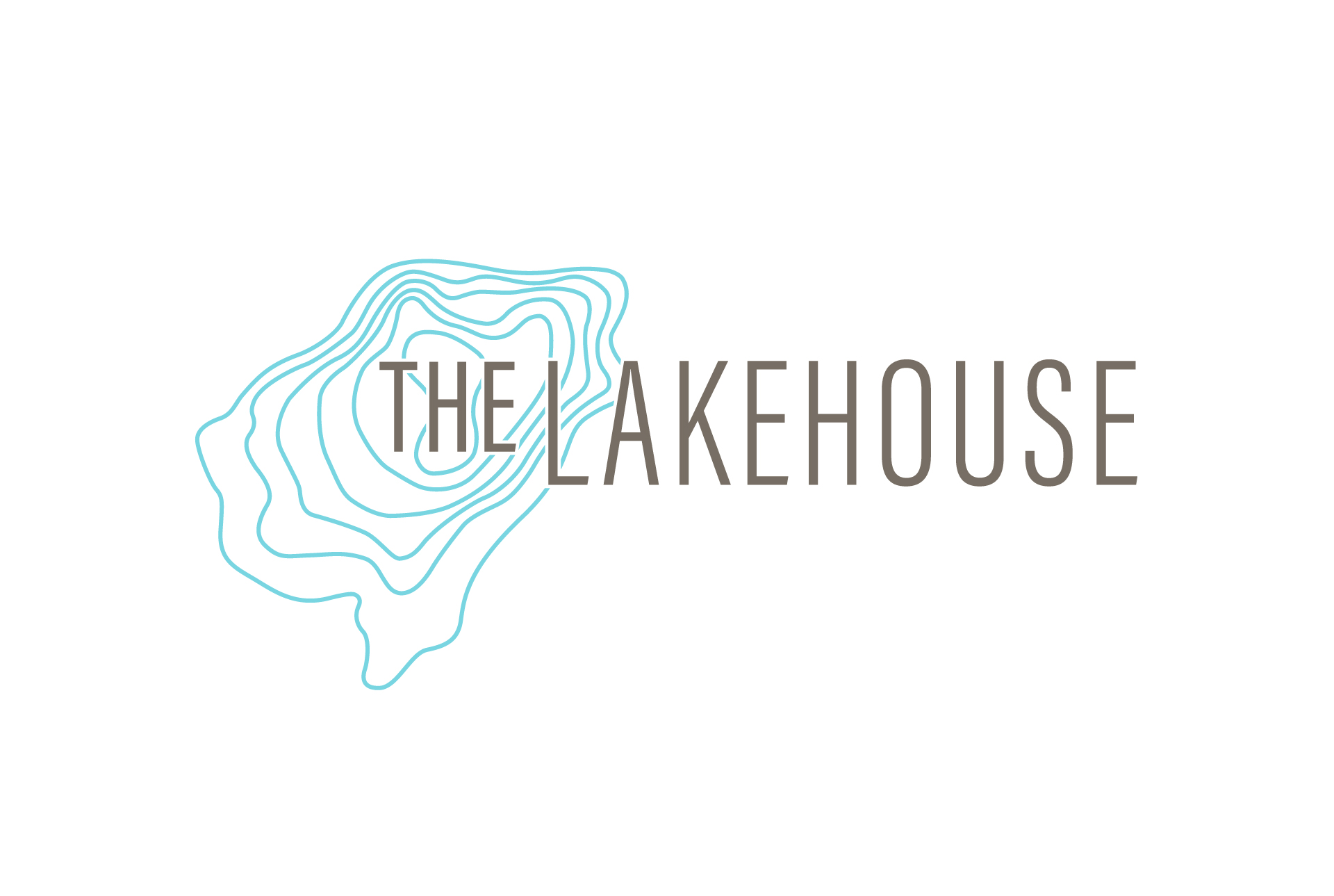multifamily logo design for the lakehouse