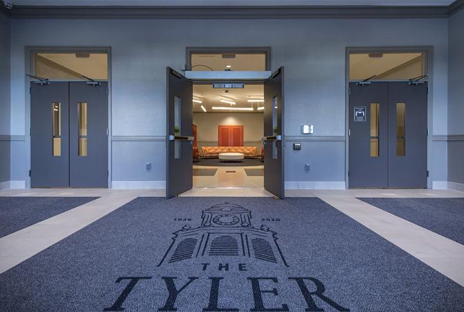 The Tyler Entrance